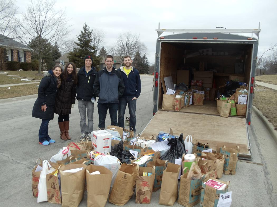 Service Projects: Food Drive