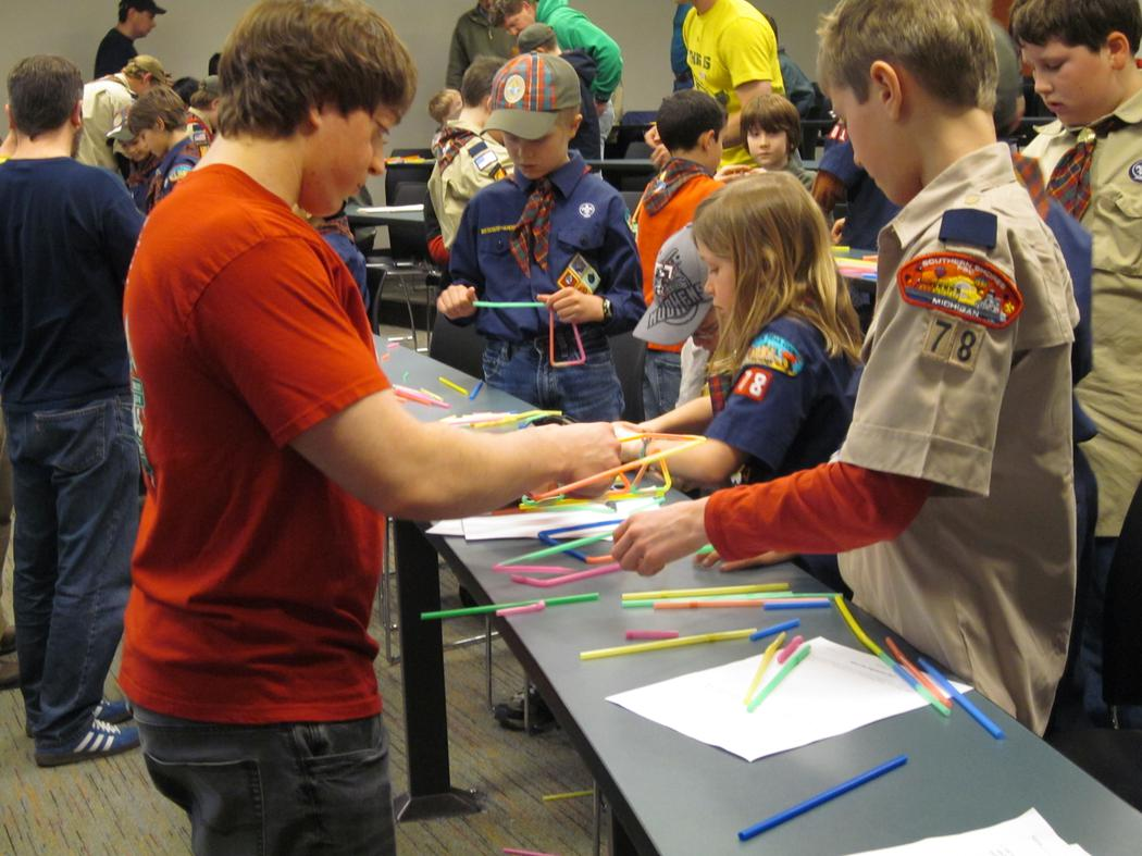 Outreach: Cub Scouts Day